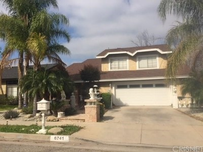 West Hills Single Family Home For Sale: 6741 Vicky Avenue