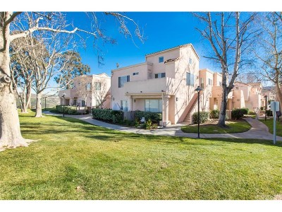 Newhall Condo/Townhouse Active Under Contract: 24451 Leonard Tree Lane #202