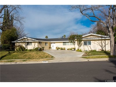 Woodland Hills Single Family Home For Sale: 20705 Clarendon Street