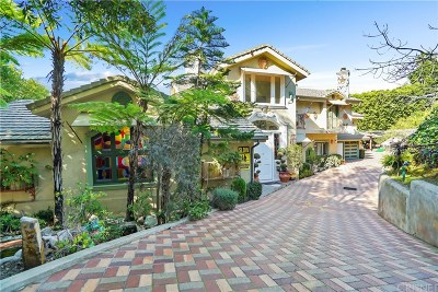 Studio City Single Family Home For Sale: 3876 Eureka Drive