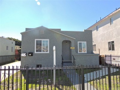 Los Feliz Single Family Home Active Under Contract: 834 East 83rd Street