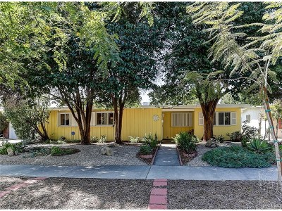 Reseda Single Family Home Active Under Contract: 7703 Bothwell Road
