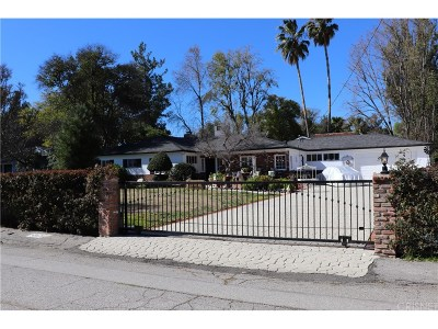 Woodland Hills Single Family Home For Sale: 5813 Penfield Avenue