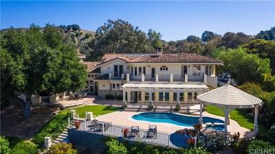 Hidden Hills Single Family Home For Sale: 5370 Whitman Road