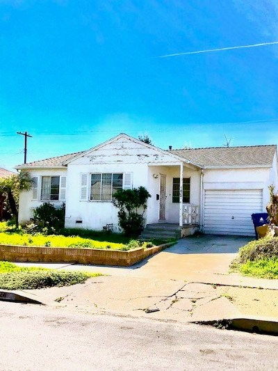 Single Family Home For Auction: 5424 West 77th Street