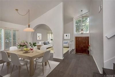 Thousand Oaks Single Family Home Active Under Contract: 486 Raindance Street