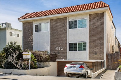 Santa Monica Condo/Townhouse For Sale: 1532 Berkeley Street #6