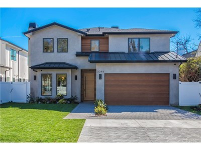 Valley Glen Single Family Home Active Under Contract: 12244 Emelita Street