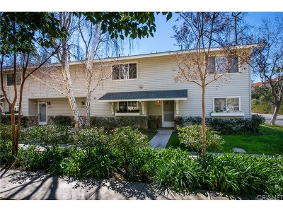 Calabasas Condo/Townhouse For Sale: 26238 Alizia Canyon Drive