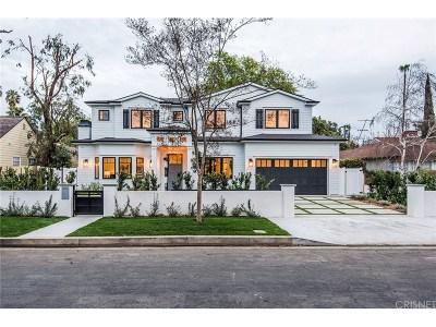Studio City Single Family Home For Sale: 4240 Teesdale Avenue