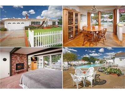 Canoga Park Single Family Home For Sale: 7901 Hanna Avenue