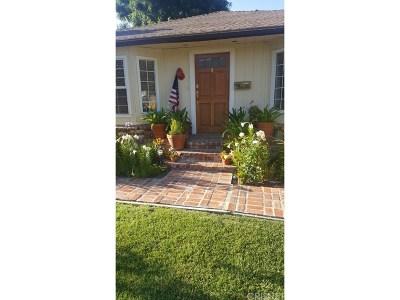 Encino Single Family Home For Sale: 18033 Rosita Street