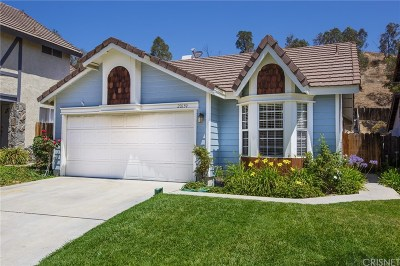 Canyon Country Single Family Home For Sale: 20139 Gilbert Drive