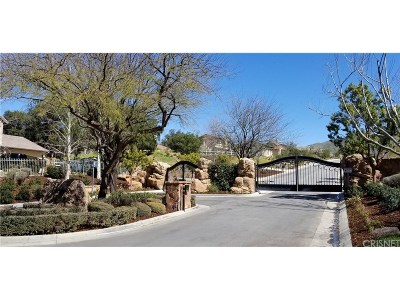 Canyon Country Residential Lots & Land For Sale: 15838 Mandalay Road