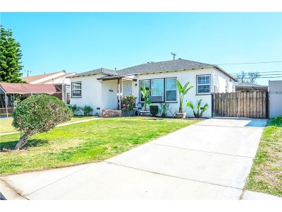 Whittier Single Family Home For Sale: 8152 Summerfield Avenue