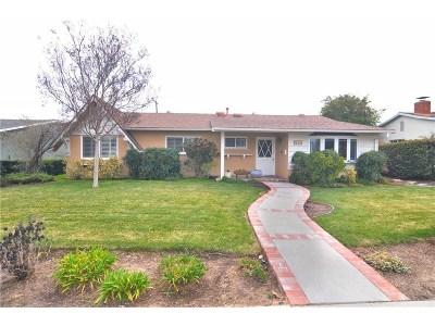 West Hills Single Family Home Active Under Contract: 24218 Vanowen Street