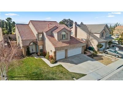 Lancaster Single Family Home For Sale: 42337 Seville Circle