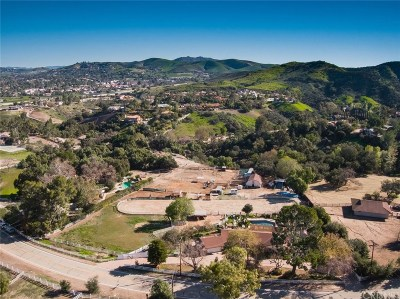Thousand Oaks Single Family Home Active Under Contract: 490 Rimrock Road