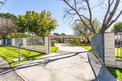 Northridge Single Family Home For Sale: 17524 Community Street
