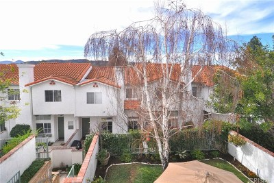 Thousand Oaks Condo/Townhouse For Sale: 351 Westlake Vista Lane