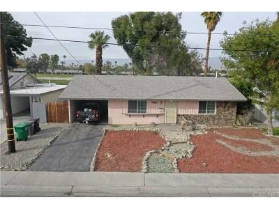 Palm Desert Single Family Home For Sale: 77650 California Drive