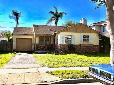 Redondo Beach Single Family Home For Auction: 2504 Fisk Lane