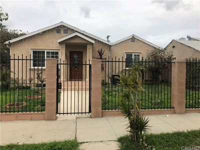 Van Nuys Single Family Home For Sale: 7001 Natick Avenue
