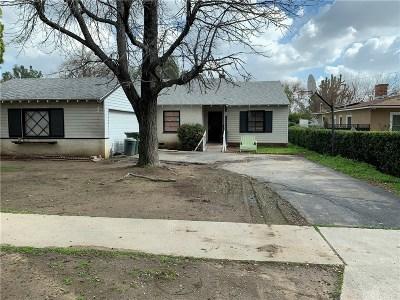 San Fernando Single Family Home Active Under Contract: 754 North Lazard Street