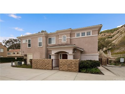 Canyon Country Condo/Townhouse For Sale: 28955 Oak Spring Canyon Road #4