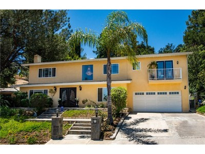 Encino Single Family Home For Sale: 3325 Alginet Drive