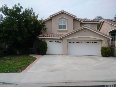 Saugus Single Family Home For Sale: 28431 Rock Canyon Drive