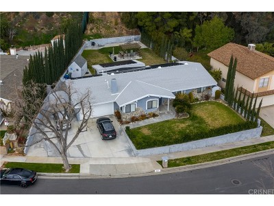 Saugus Single Family Home For Sale: 22117 Barbacoa Drive