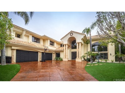 Calabasas Single Family Home For Sale: 25548 Kingston Court