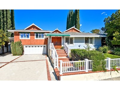 Woodland Hills Single Family Home For Sale: 22721 Mulholland Drive