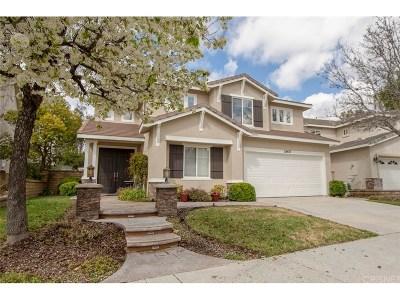 Valencia Single Family Home For Sale: 28457 Calex Drive