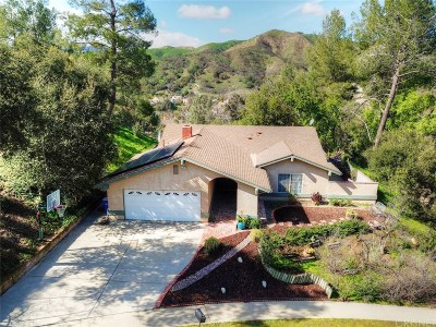 Agoura Hills Single Family Home Sold: 3949 Jim Bowie Road