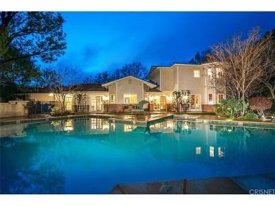 Hidden Hills Single Family Home Active Under Contract: 24835 Jacob Hamblin Road
