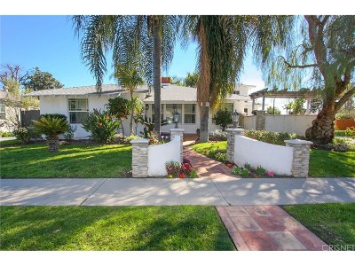 Valley Village Single Family Home For Sale: 4940 Alcove Avenue