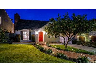 Single Family Home For Sale: 14733 Tustin Street