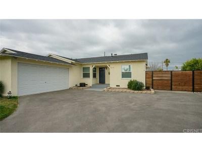 Sun Valley Single Family Home For Sale: 11319 Lull Street