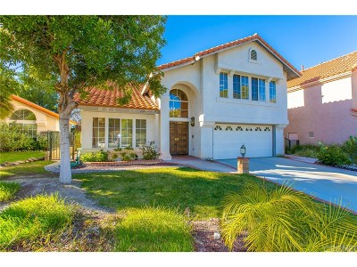 Saugus Single Family Home For Sale: 20044 Shadow Hills Court