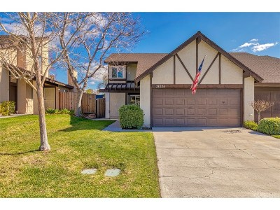 Canyon Country Single Family Home Active Under Contract: 28224 Miss Grace Drive