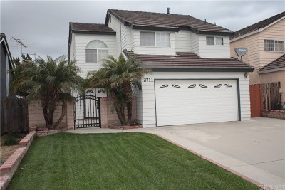 Simi Valley Single Family Home For Sale: 2711 Reservoir Drive