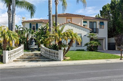 Calabasas Single Family Home For Sale: 26740 Mont Calabasas Drive