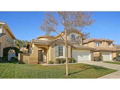 Saugus Single Family Home For Sale: 29029 Ironwood Lane