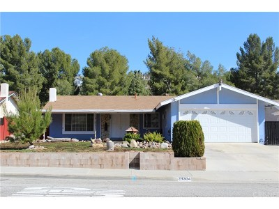 Canyon Country Single Family Home Active Under Contract: 29304 Abelia Road