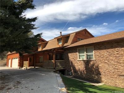 Frazier Park Single Family Home For Sale: 1128 Snowbird Drive