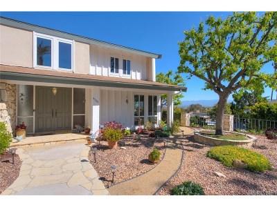 Tarzana Single Family Home For Sale: 4705 Hermano Drive