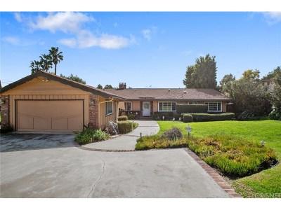 Thousand Oaks Single Family Home For Sale: 862 Camino Dos Rios