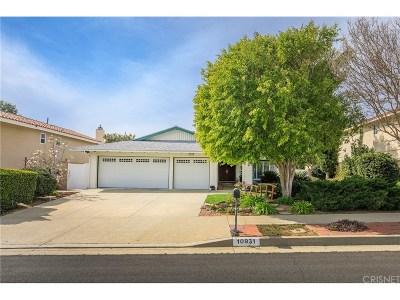 Chatsworth Single Family Home Active Under Contract: 10931 Lurline Avenue